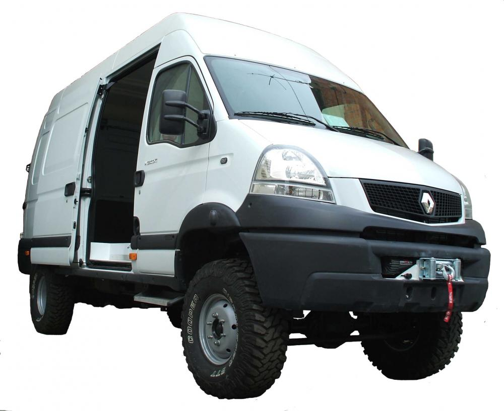 renault mascott 4x4 van pere maimi off road engineering kits 4x4. Black Bedroom Furniture Sets. Home Design Ideas