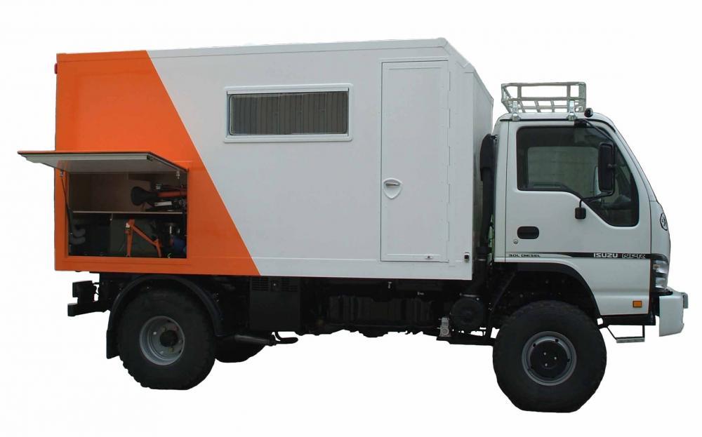 Camper Isuzu NPR 4x4 - Pere Maimi - Off Road Engineering